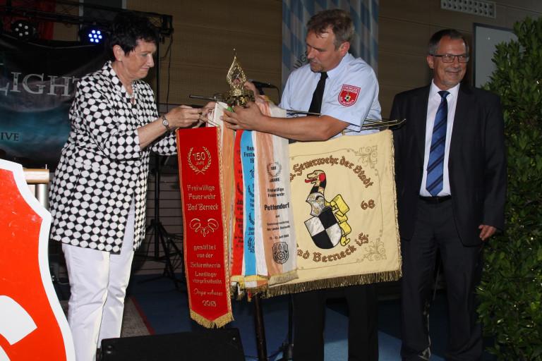 Fahnenband 150 Jahre FFW Bad Berneck, 2. Juni 2018