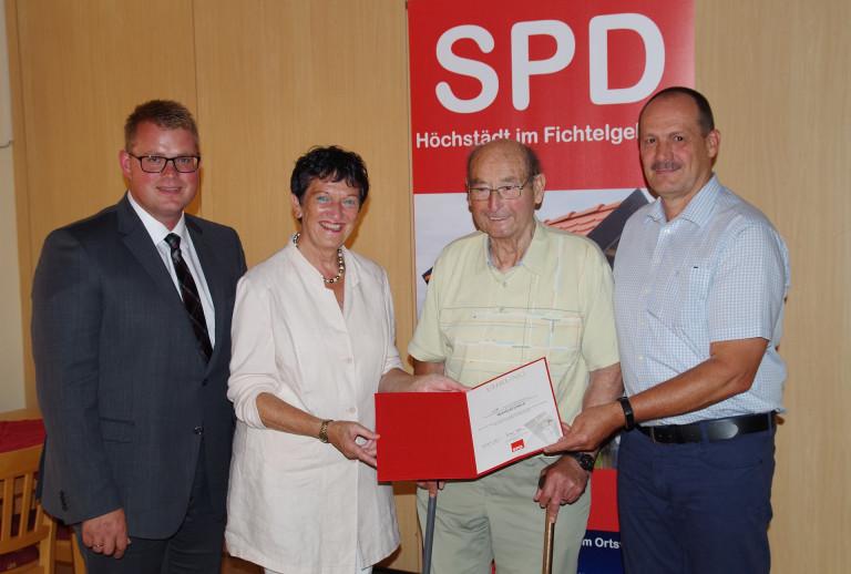 Ehrung SPD Höchstädt